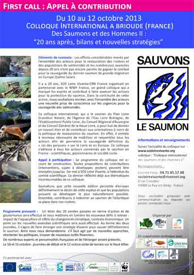 first call Collqoue saumon